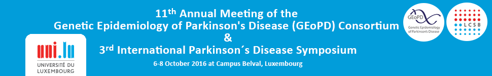 Genetic Epidemiology of Parkinson's Disease